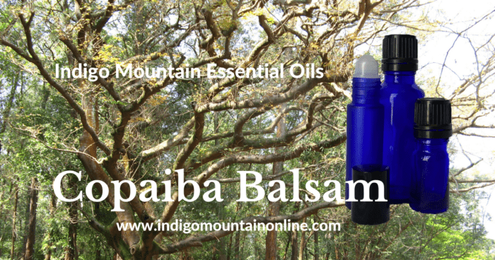 Copaiba Balsam Essential Oil
