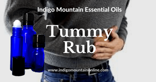 Tummy Rub Essential Oil Synergy