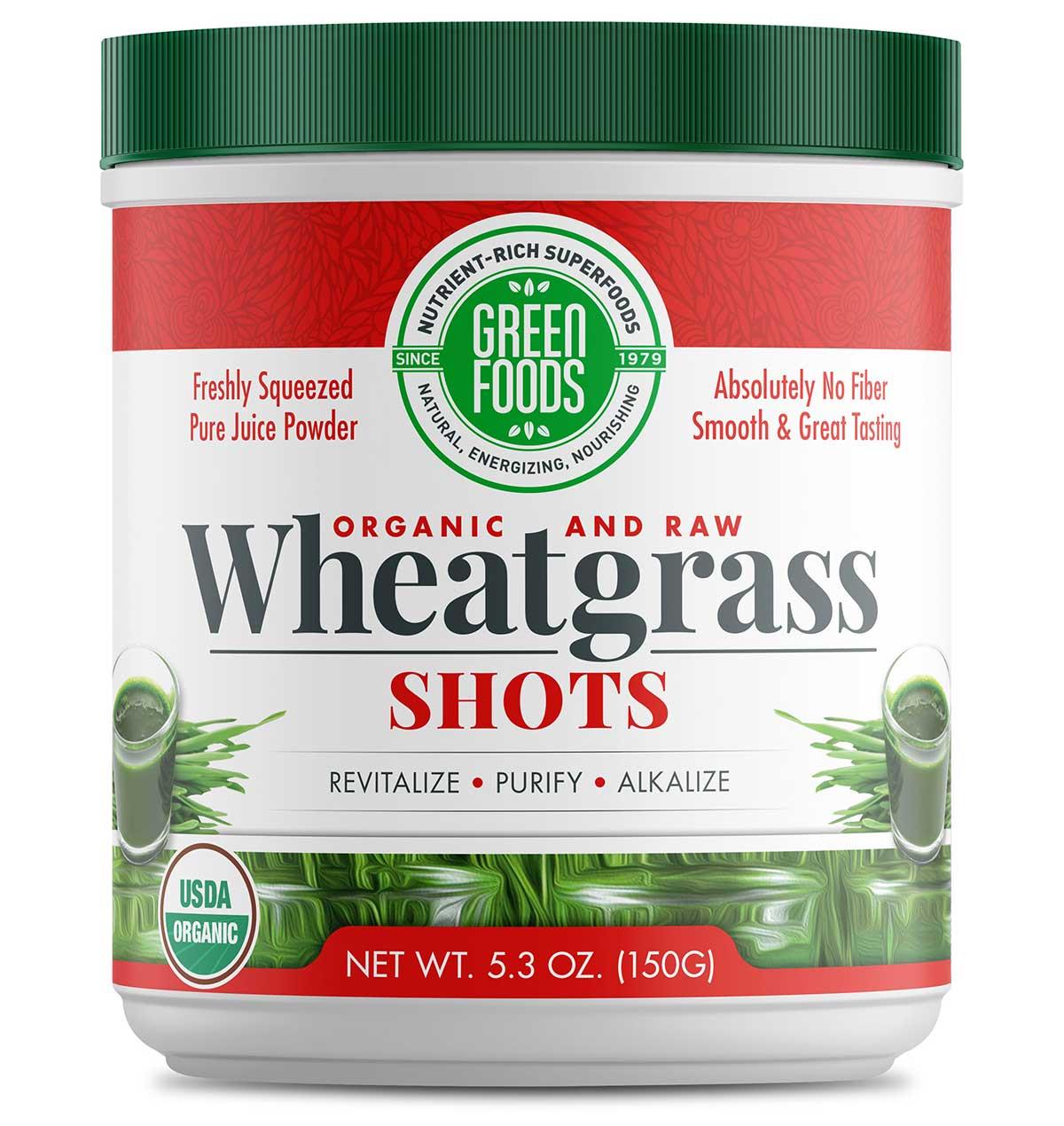 Wheat Grass Shots